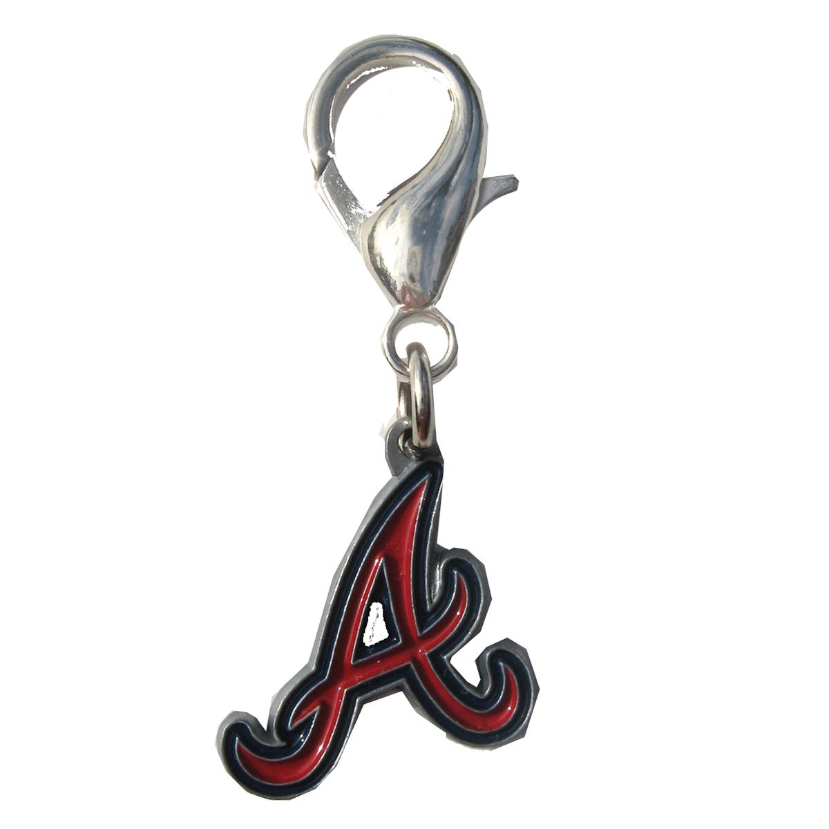 Atlanta Braves Dog Collar Charm