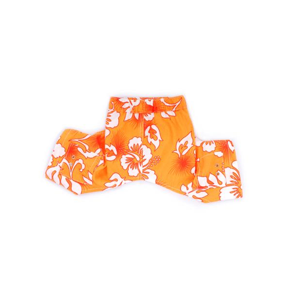 Bahamas Dog Swim Trunks - Orange