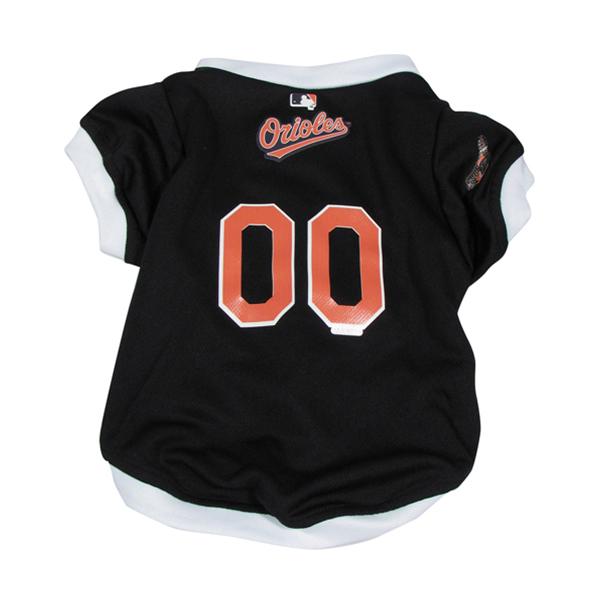 Baltimore Orioles Baseball Dog Jersey - White Trim