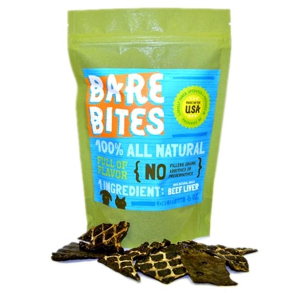 Bare Bites Beef Liver Dog Treats