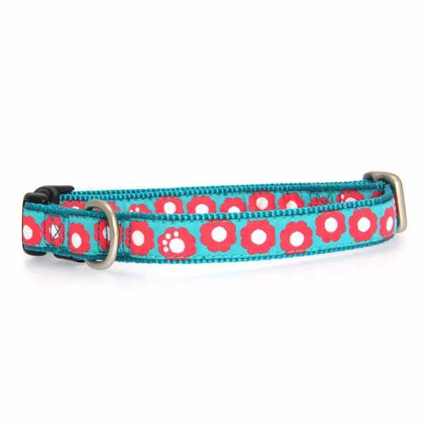 Fido Finery Dog Collar - Teal My Heart