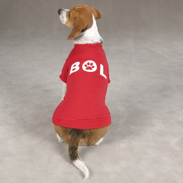 Bark Out Loud Dog T-Shirt - Red