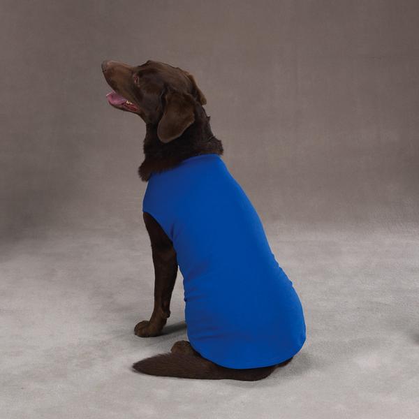 Basic Dog Tank - Nautical Blue