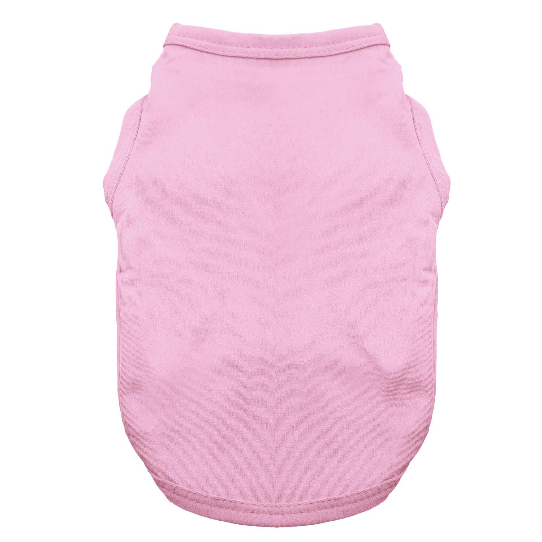 Basic Tank Dog Shirt - Candy Pink