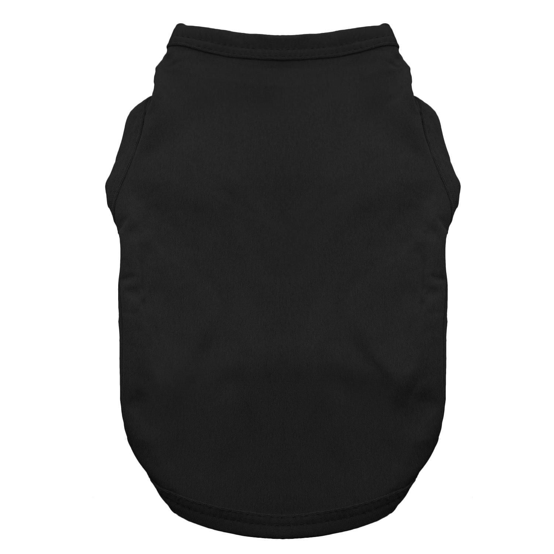 Basic Tank Dog Shirt - Jet Black