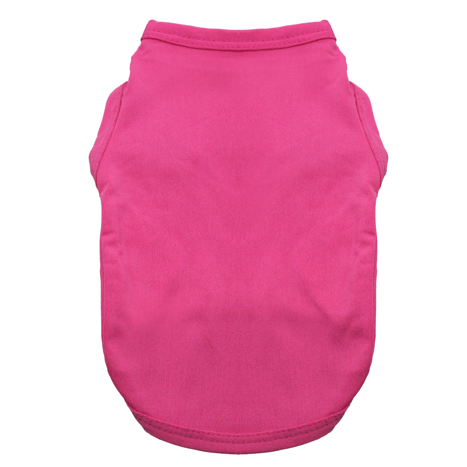 Basic Tank Dog Shirt - Raspberry Sorbet