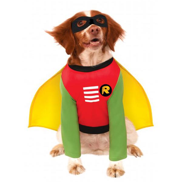 Batman's Robin Dog Halloween Costume