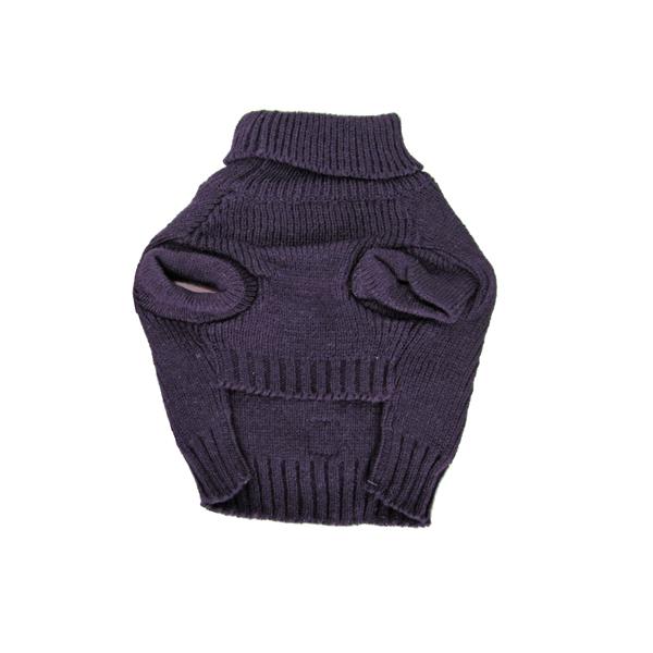 Baxter's Basic Dog Sweater - Plum