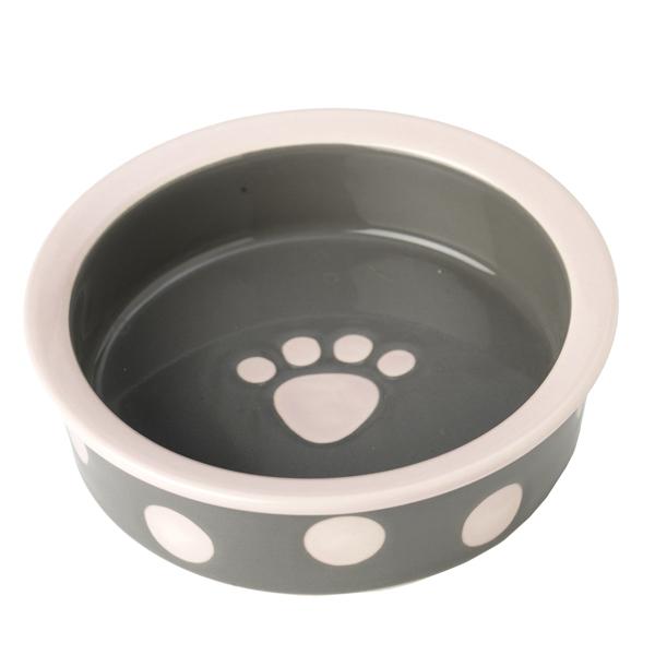 Bella's Dots Dog Bowl