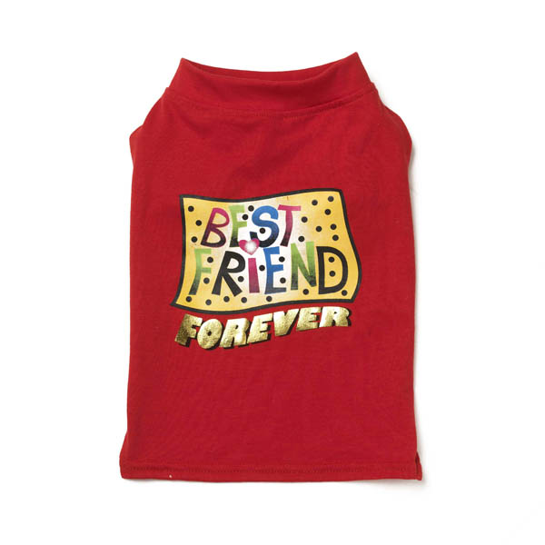 Best Friend Dog T-Shirt - Red