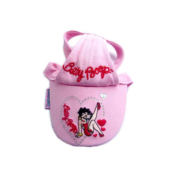Betty Boop Pink Dog Hat