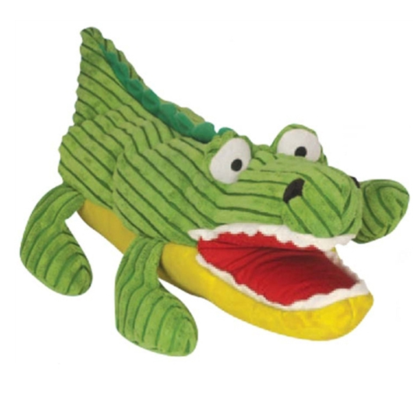 Billy the Interactive Gator Puppet Dog Toy