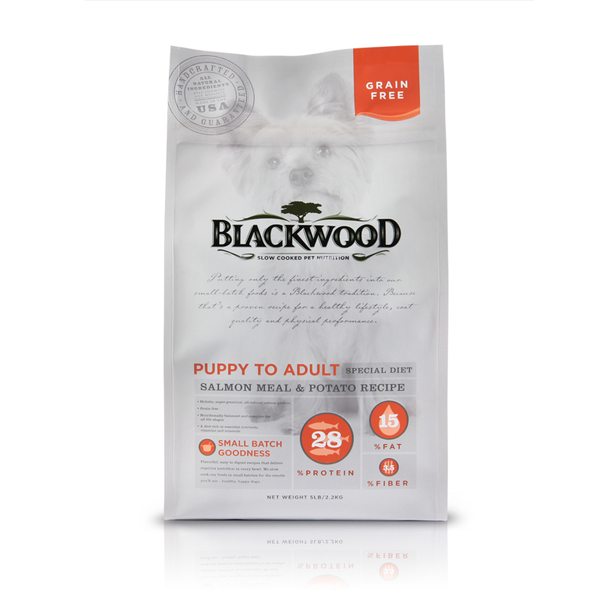 Blackwood Grain Free Holistic Dog Food - Salmon Meal & Potato