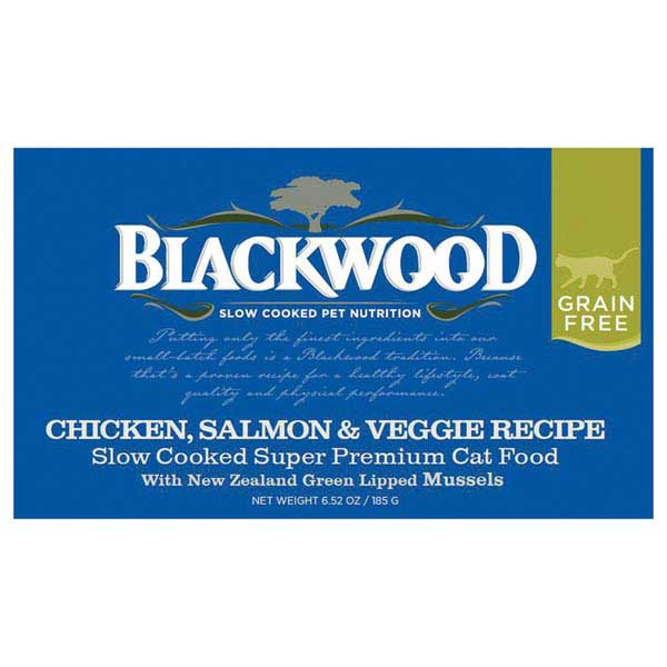 Blackwood Wet Cat Food - Chicken/Salmon/Vegetable