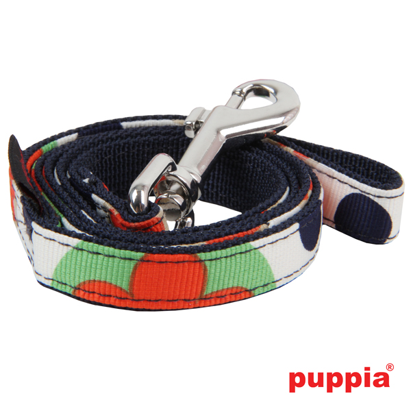 Blossom Dog Leash by Puppia - Navy