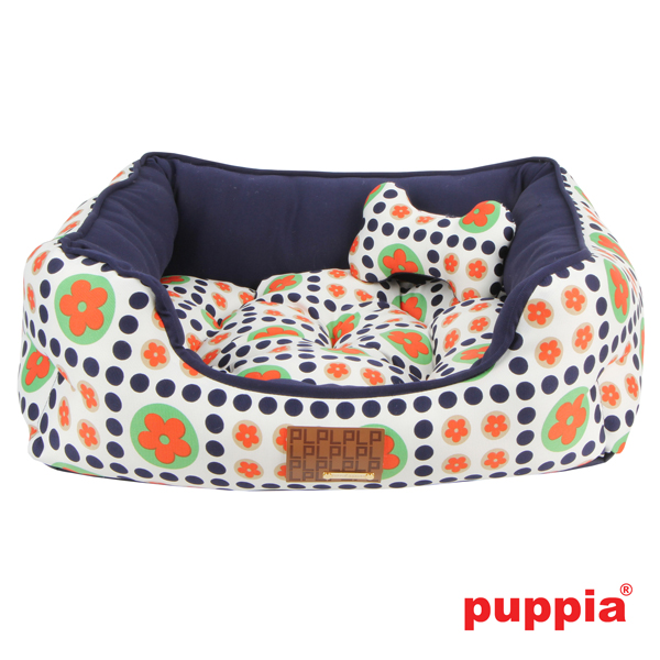 Blossom House Dog Bed by Puppia - Navy