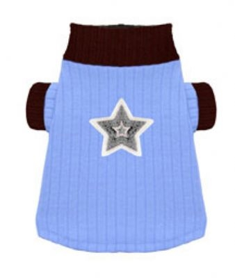 Blue Star Turtleneck by Hip Doggie