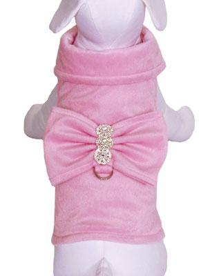 BowWow Bow Jacket & Leash - Pink