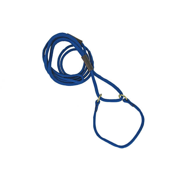 Braided Martingale Show Lead - Blue