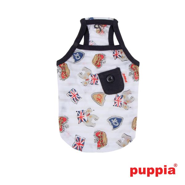 Britannia Dog Tank Top by Puppia - Navy
