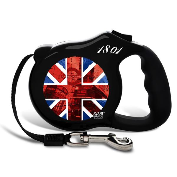 British Invasion Retractable Dog Leash