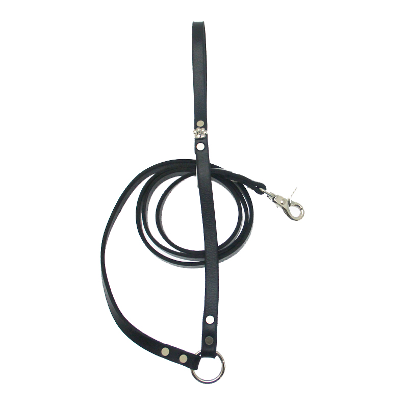 Bucky Belt Dog Leash - Black