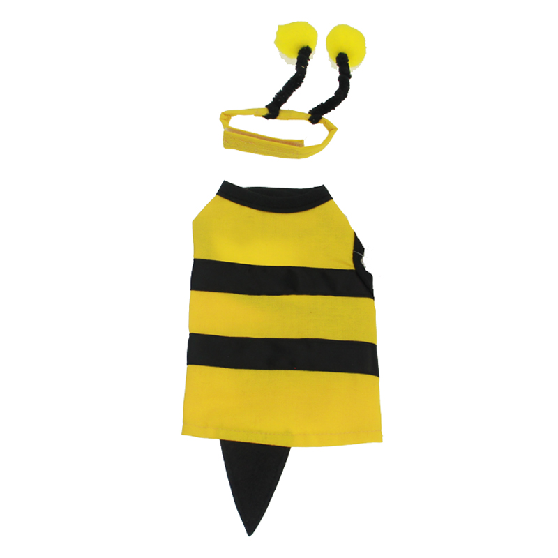 Bumble Bee Dog Costume with No D-Ring