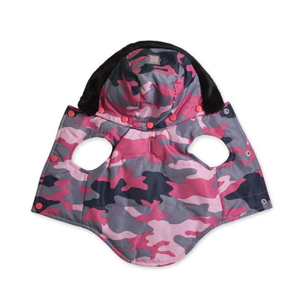 Bundle Up Jacket - Pink Camo