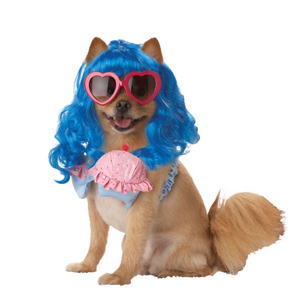 Cupcake Girl Dog Costume