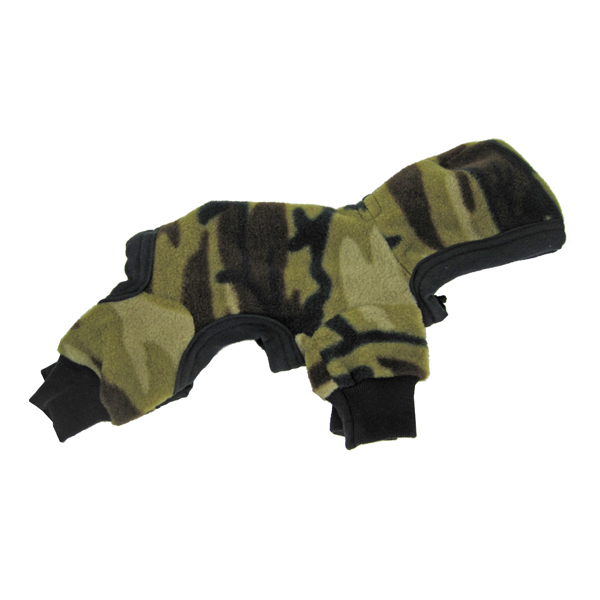 Camo Fleece Jumpsuit