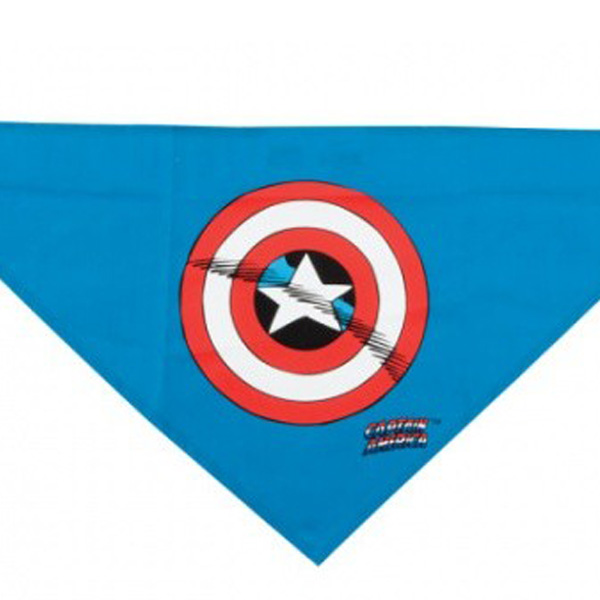 Captain America Dog Bandana