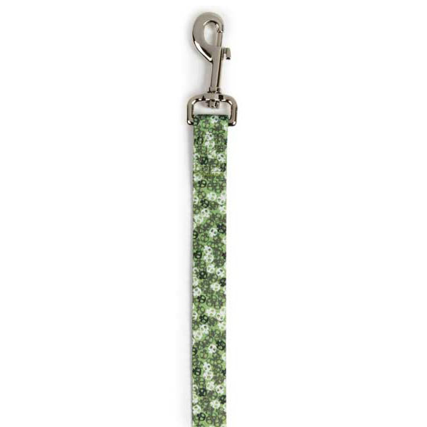 Bone Heads Dog Leash - Green