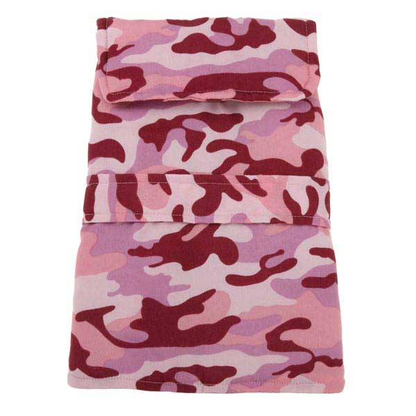 Casual Canine Camo Barn Dog Coat - Pink