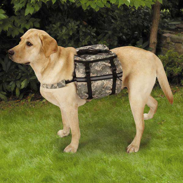 Casual Canine Digital Camo Day Tripper Dog Backpack