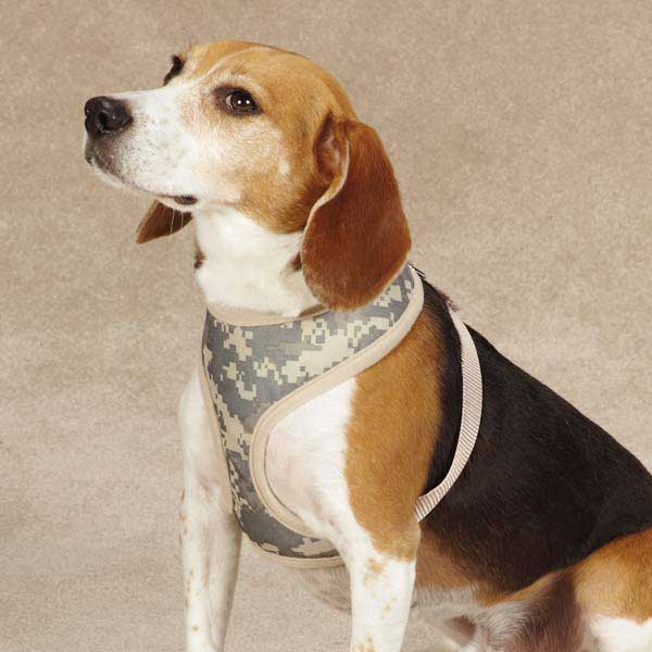 Casual Canine Digital Camo Dog Harness