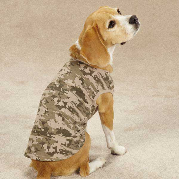 Casual Canine Digital Camo Dog Tank