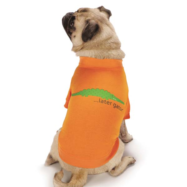 Jungle Bunch Dog T-Shirt - Gator