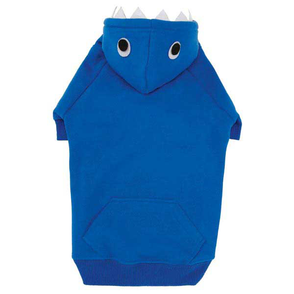 Casual Canine Lil' Monster Dog Hoodie - Blue