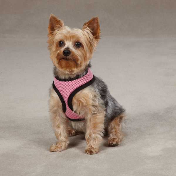 Casual Canine Mesh Dog Harness - Pastel Pink