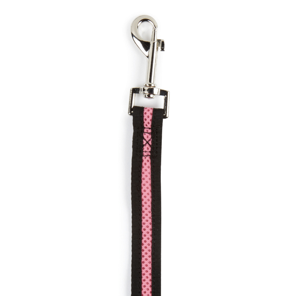 Casual Canine Mesh Dog Leash - Pastel Pink