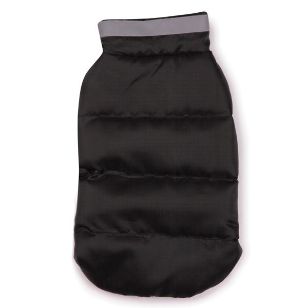 North Paw Puffy Dog Vest - Black