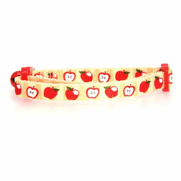 Casual Kitty Harvest Cat Collar - Apples