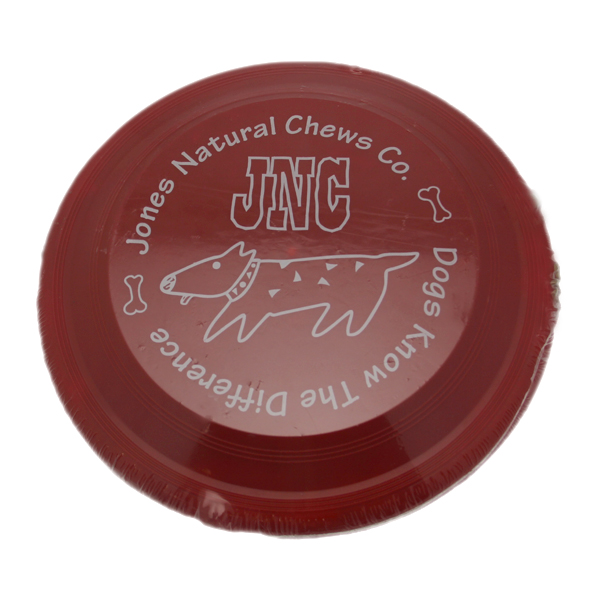 Chewers Gift Dog Treats by Jones Gourmet with Frisbee
