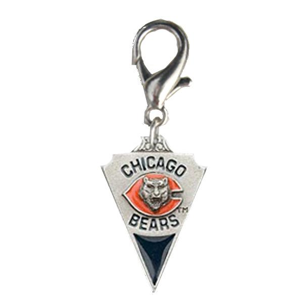 Chicago Bears Pennant Dog Collar Charm
