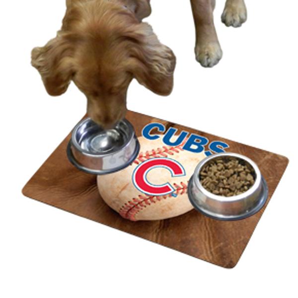 Chicago Cubs Pet Bowl Mat