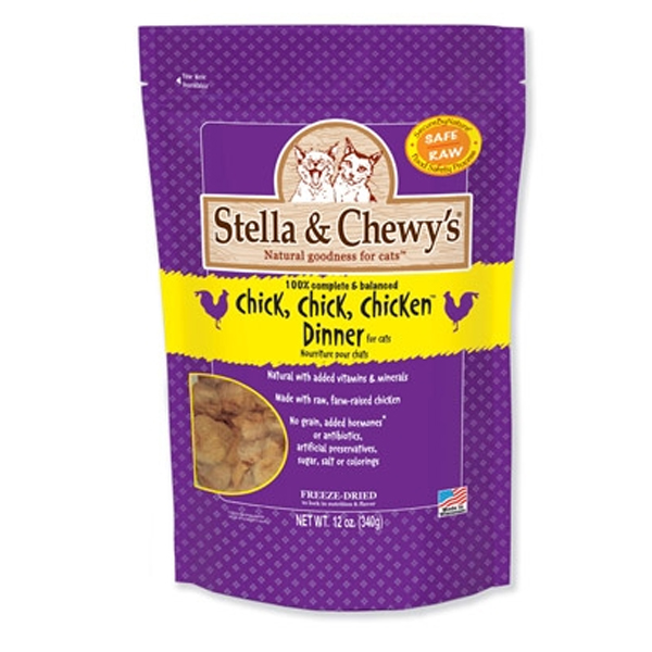Chick, Chick, Chicken Dinner Cat Treat - Freeze Dried