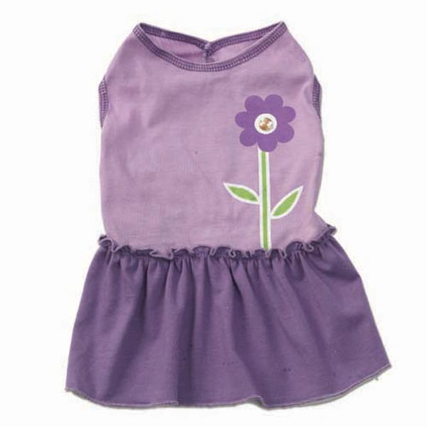 Chloe's Flower Dress - Purple