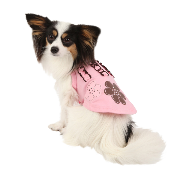 Choco Mousse Dog Shirt by Pinkaholic - Pink