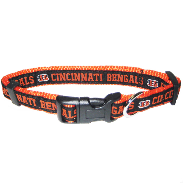 Cincinnati Bengals Officially Licensed Dog Collar