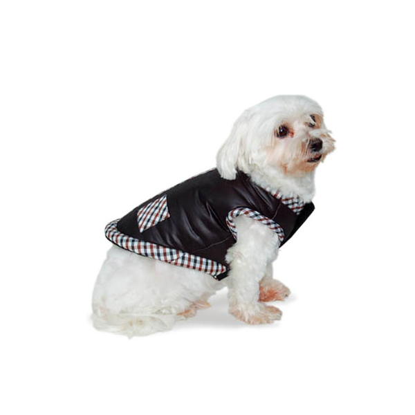 Classic Chic Dog Jacket by Dogo - Black
